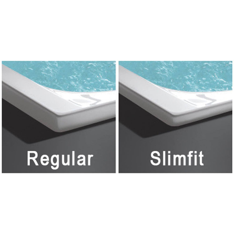 Sealskin Ligbad Senso Slimfit Compact R 165x90 cm Wit kopen met korting doe je hier