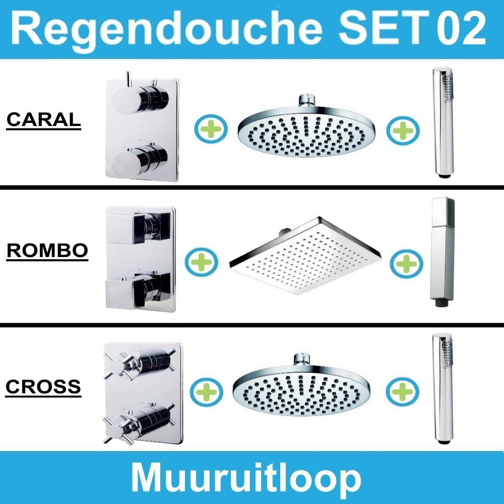 Kranen > Regendouche > Inbouw Regendouche
