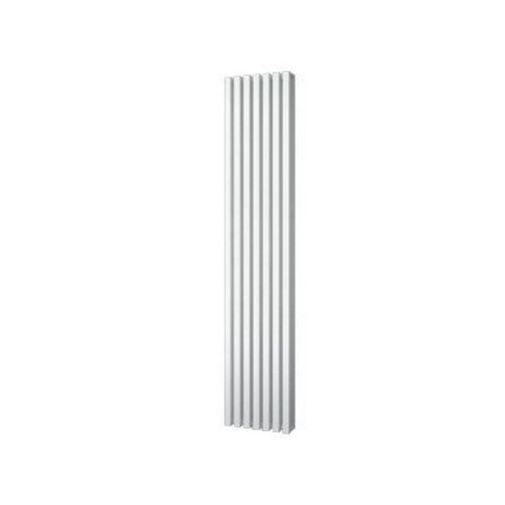 Designradiator Plieger Siena Dubbele Variant 1096 Watt Middenaansluiting 180×31,8 cm Wit