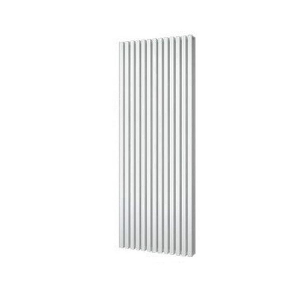 Designradiator Plieger Siena Dubbele Variant 2030 Watt Middenaansluiting 180×60,6 cm Wit