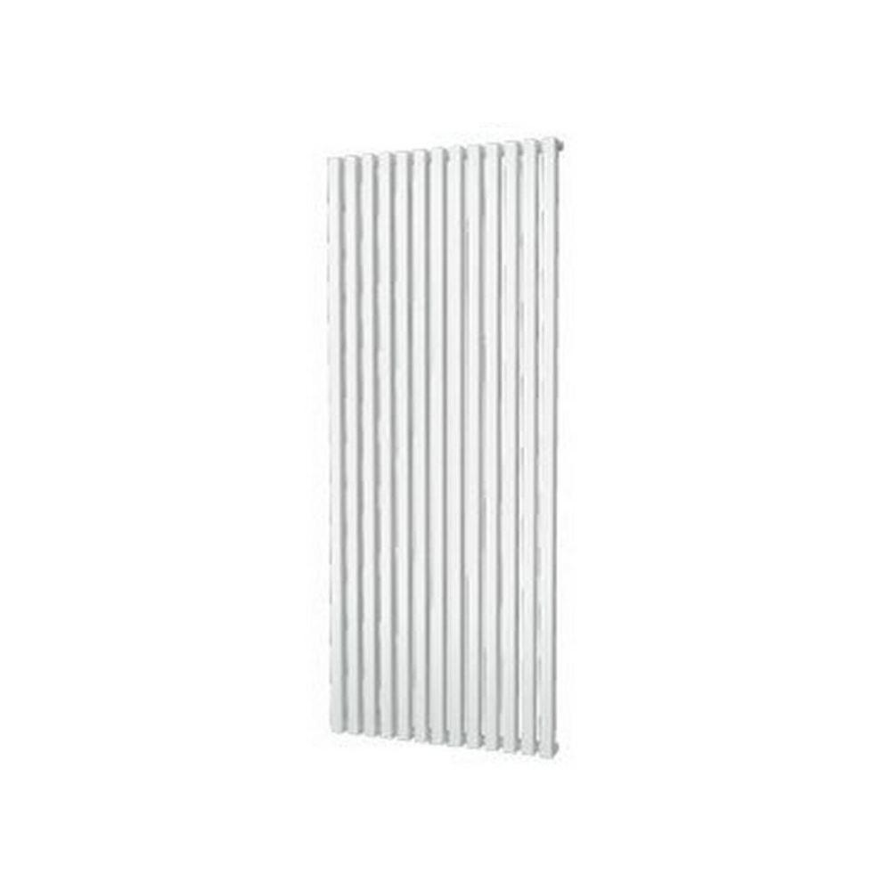 Designradiator Plieger Siena Enkele Variant 1422 Watt Middenaansluiting 180×60,6 cm Wit