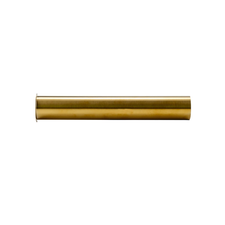 Sifon Verlengbuis Wiesbaden Met Kraag 20 cm Geborsteld Messing Goud