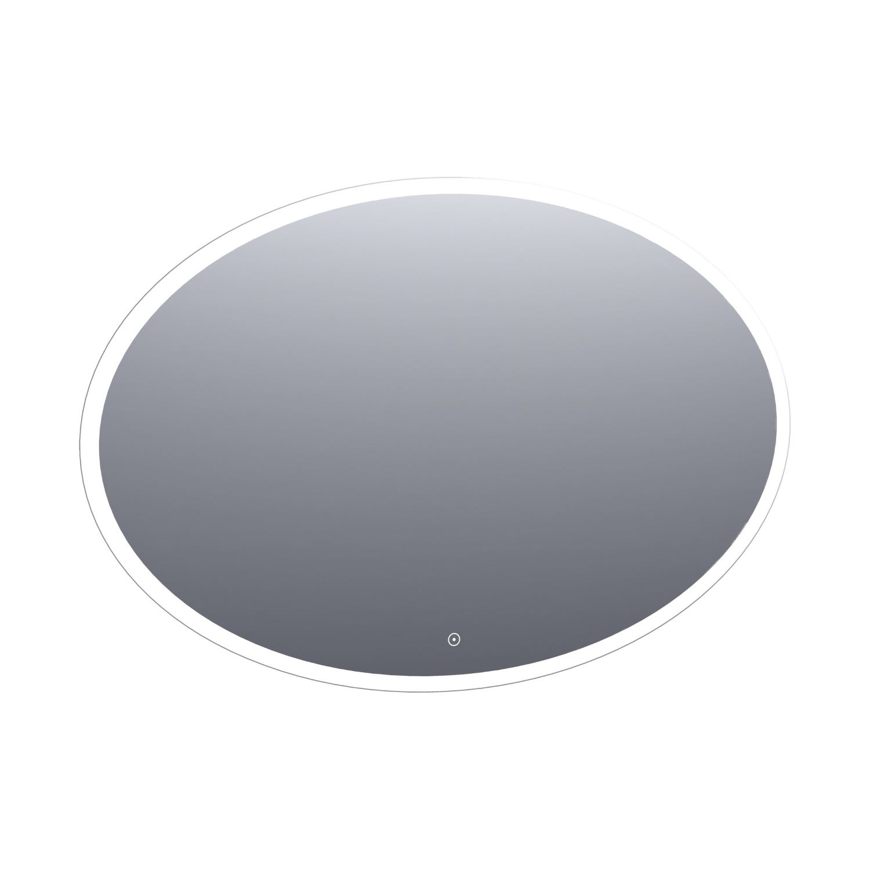 Badkamerspiegel Horizon Ovaal 120x80 cm LED Dimfunctie