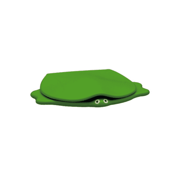 Kinderclosetzitting Sphinx 300 Turtle met deksel groen product foto