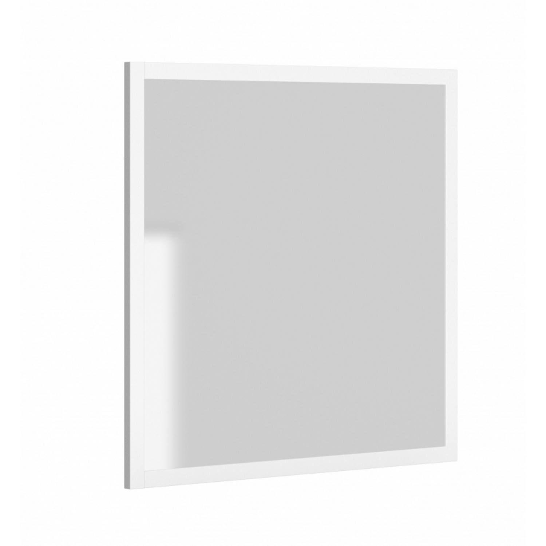 Spiegel Allibert America met Kader 80x80x2 cm Mat Wit