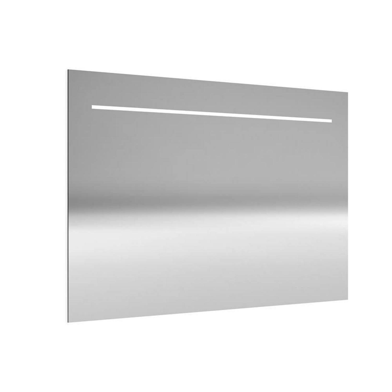Spiegel Allibert Deli met LED Verlichting 120x70x2,2 cm Aluminium