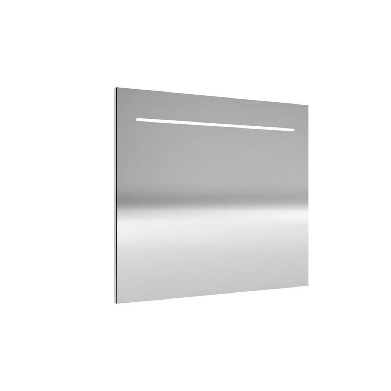 Spiegel Allibert Deli met LED Verlichting 80x70x2,2 cm Aluminium