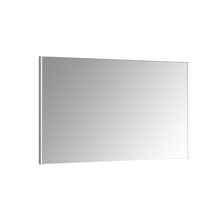Spiegel Allibert Ikari Dubbele LED Verlichting Zijkanten 140x70cm Aluminium Profiel