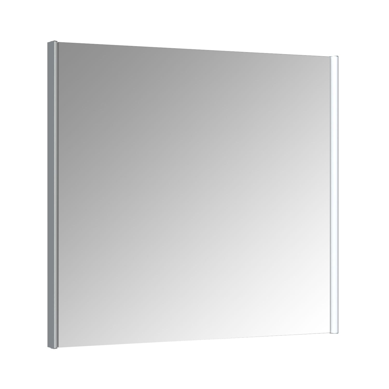 Spiegel Allibert Ikari Dubbele LED Verlichting Zijkanten 80x70cm Aluminium Profiel