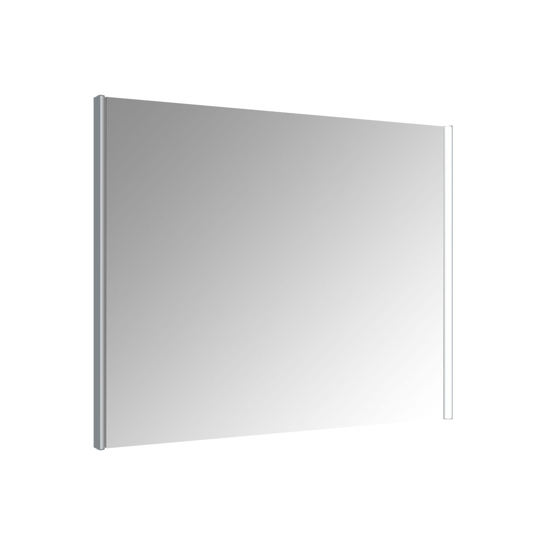 Spiegel Allibert Ikari Dubbele LED Verlichting Zijkanten 90x70cm Aluminium Profiel