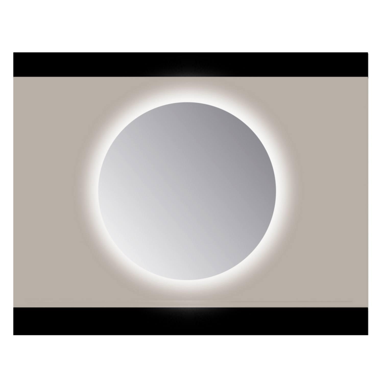 Spiegel Rond Sanicare Q 70 cm Ambi Cold White LED PP Geslepen (Met Sensor)