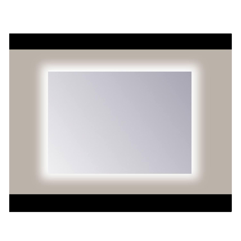 Spiegel Sanicare Q-mirrors Zonder Omlijsting 60 x 80 cm Rondom Warm White LED PP Geslepen