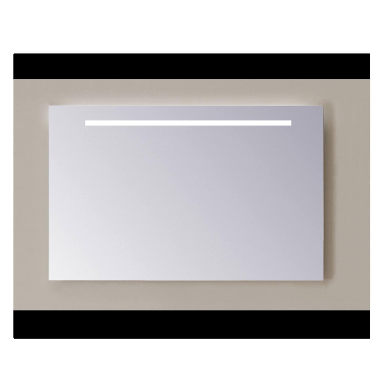 Spiegel Sanicare Q-mirrors Zonder Omlijsting 60 x 75 cm Warm White LED PP Geslepen