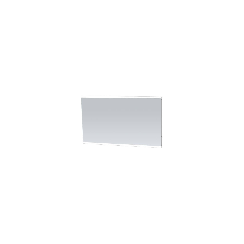 Badkamerspiegel met LED Verlichting Sanitop Twinlight 118x70x3 cm