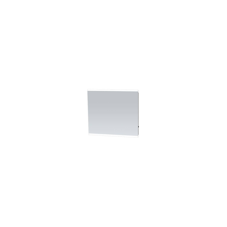 Badkamerspiegel met LED Verlichting Sanitop Twinlight 80x70x3 cm