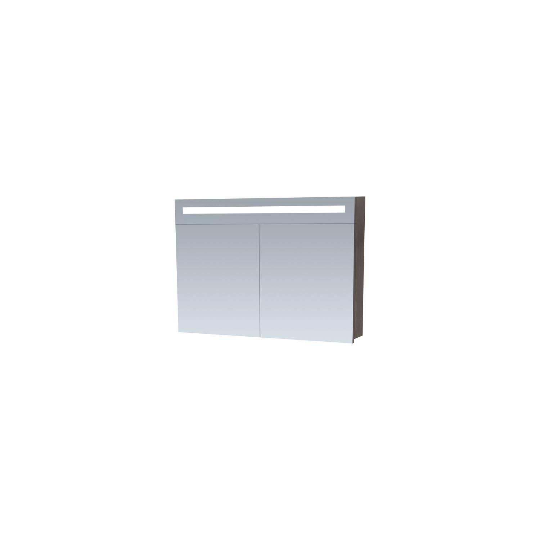 Spiegelkast 2.0 Exclusive Line 100cm Legno Antraciet