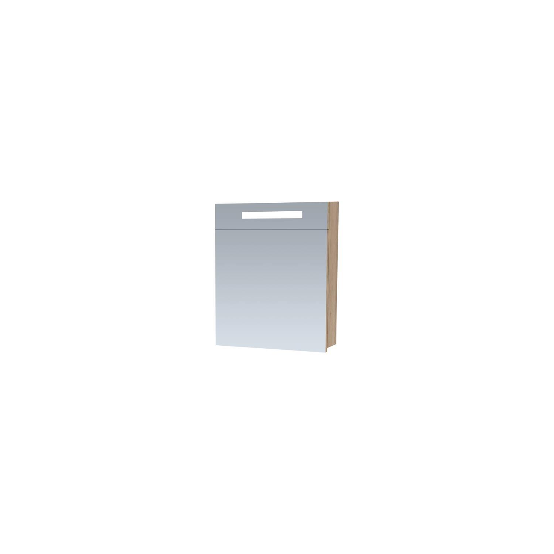 Spiegelkast 2.0 Exclusive Line 60cm Linksdraaiend Legno Calore