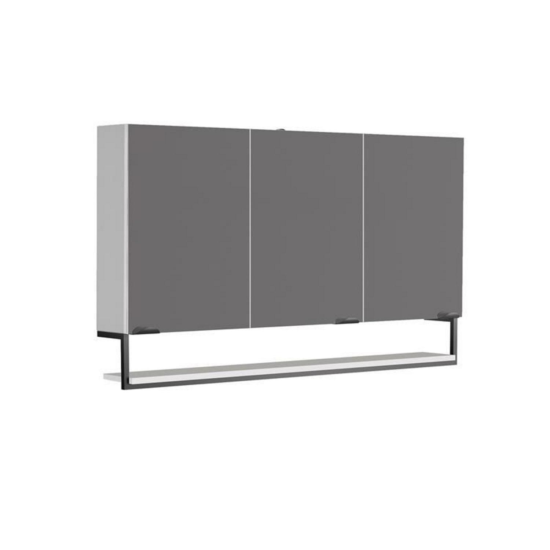 Spiegelkast Allibert Faktory 120x70x16 cm Mat Wit
