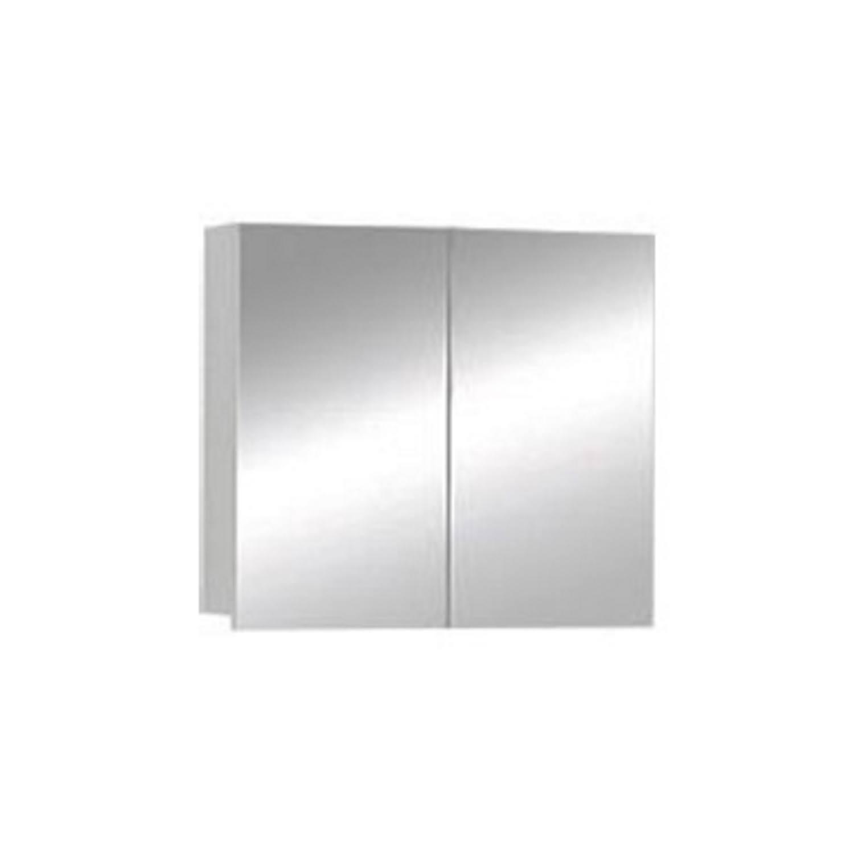 Spiegelkast Badkamer 80 Cm.Spiegelkast Boss Wessing Sally 80 Cm Aluminium