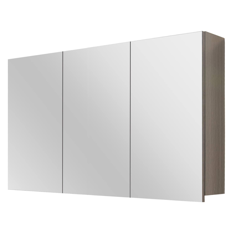 Differnz Style spiegelkast 100cm grijs eiken