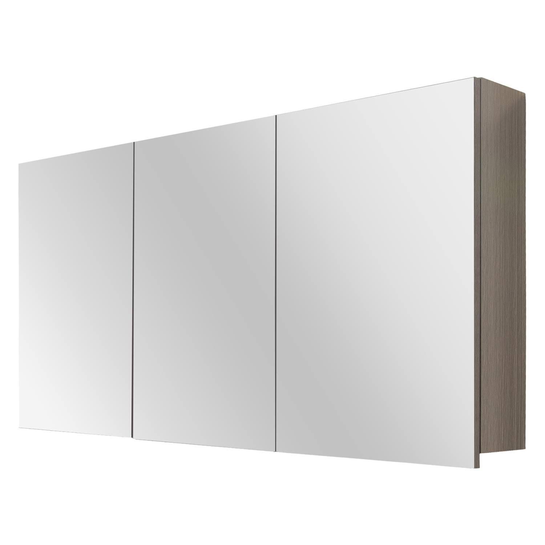 Differnz Style spiegelkast 120cm grijs eiken