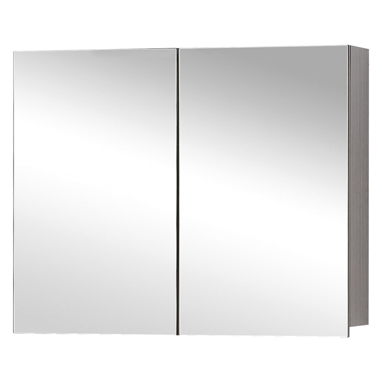 Differnz Style spiegelkast 90cm grijs eiken