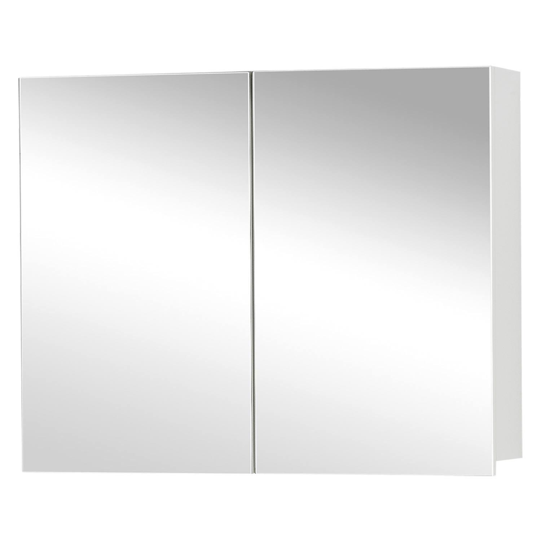 Differnz Style spiegelkast 90cm mat wit