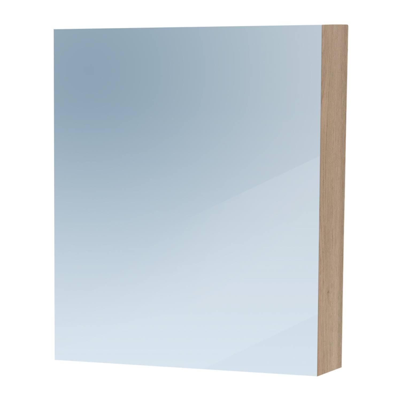 Spiegelkast Dual Exclusive Line 60cm Linksdraaiend Legno Calore