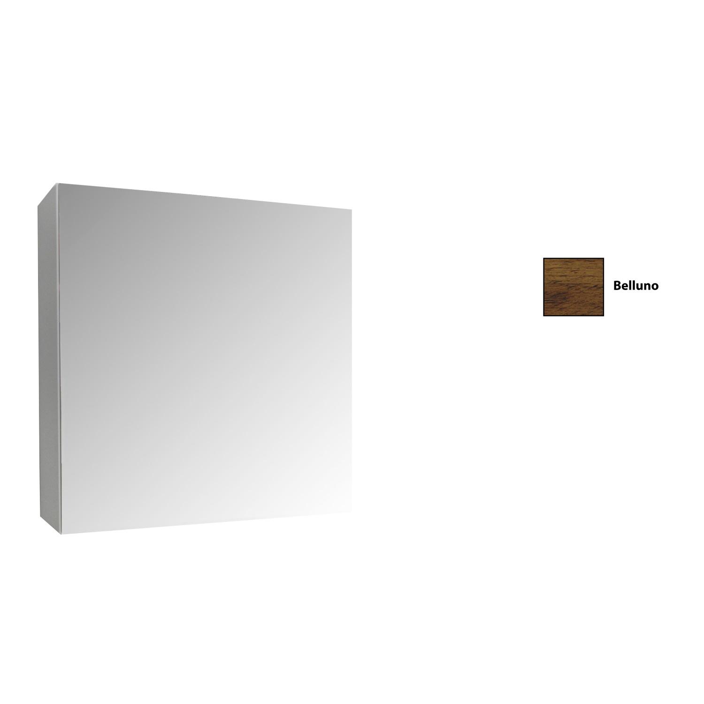 Spiegelkast Sanicare Qlassics 60 cm 1 Deur Belluno Eiken