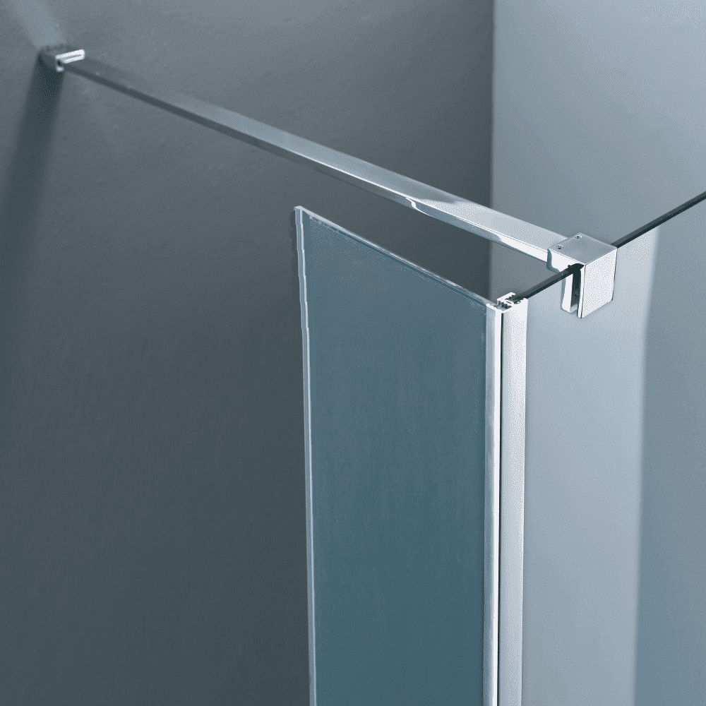 Sanitair-producten 36071 Vierkante stabilisatiestang chroom 100 cm (complete set)