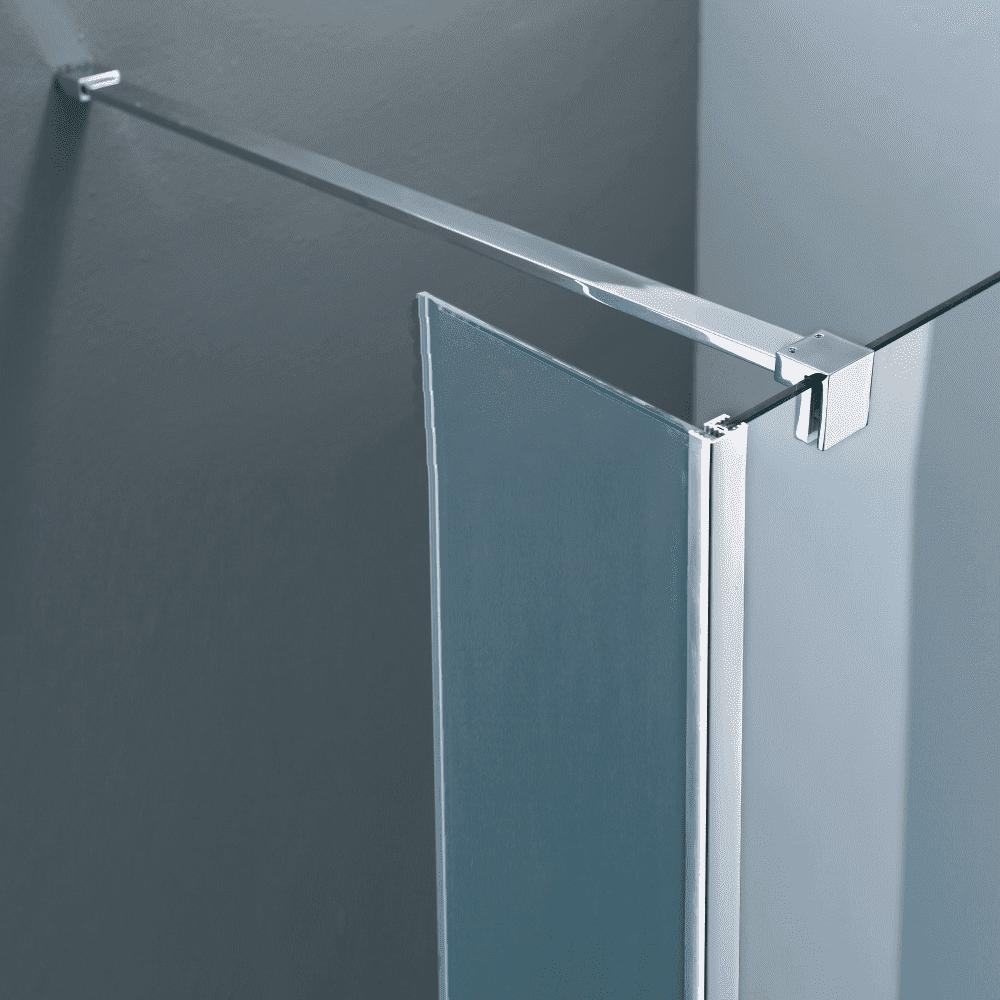 Sanitair-producten 65318 Vierkante stabilisatiestang chroom 120 cm (complete set)