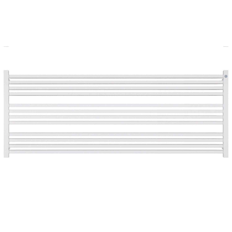Handdoekradiator IP Bern Wit in 5 Verschillende Maten 1000 - 1200 Watt Horizontaal (ook in elektrische uitvoering)