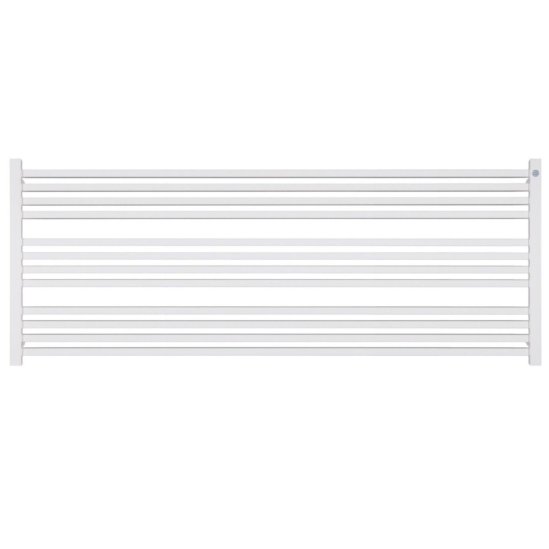 Handdoekradiator IP Bern Graphite In 5 Verschillende Maten Horizontaal (Ook in elektrische uitvoering)