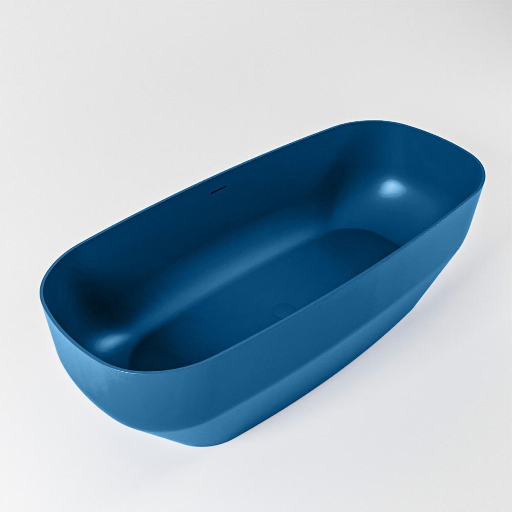 STONE vrijstaand bad 170x75cm kleur Jeans / Jeans