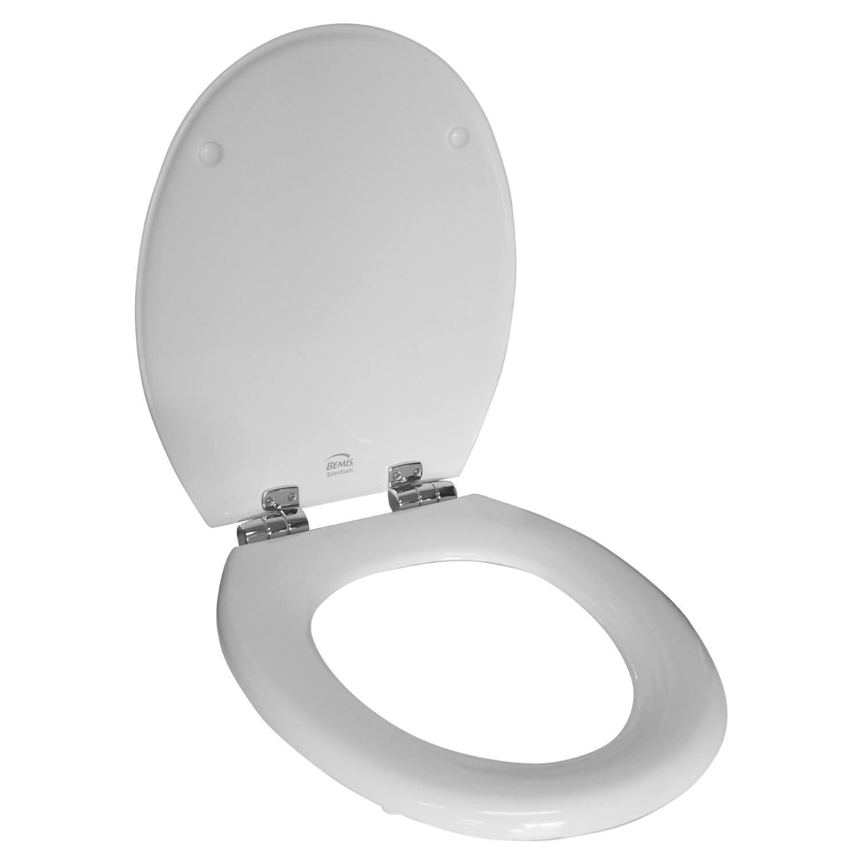 Toilet Zitting Van Marcke Bemis Softclose Houtcomposiet Wit voordeel