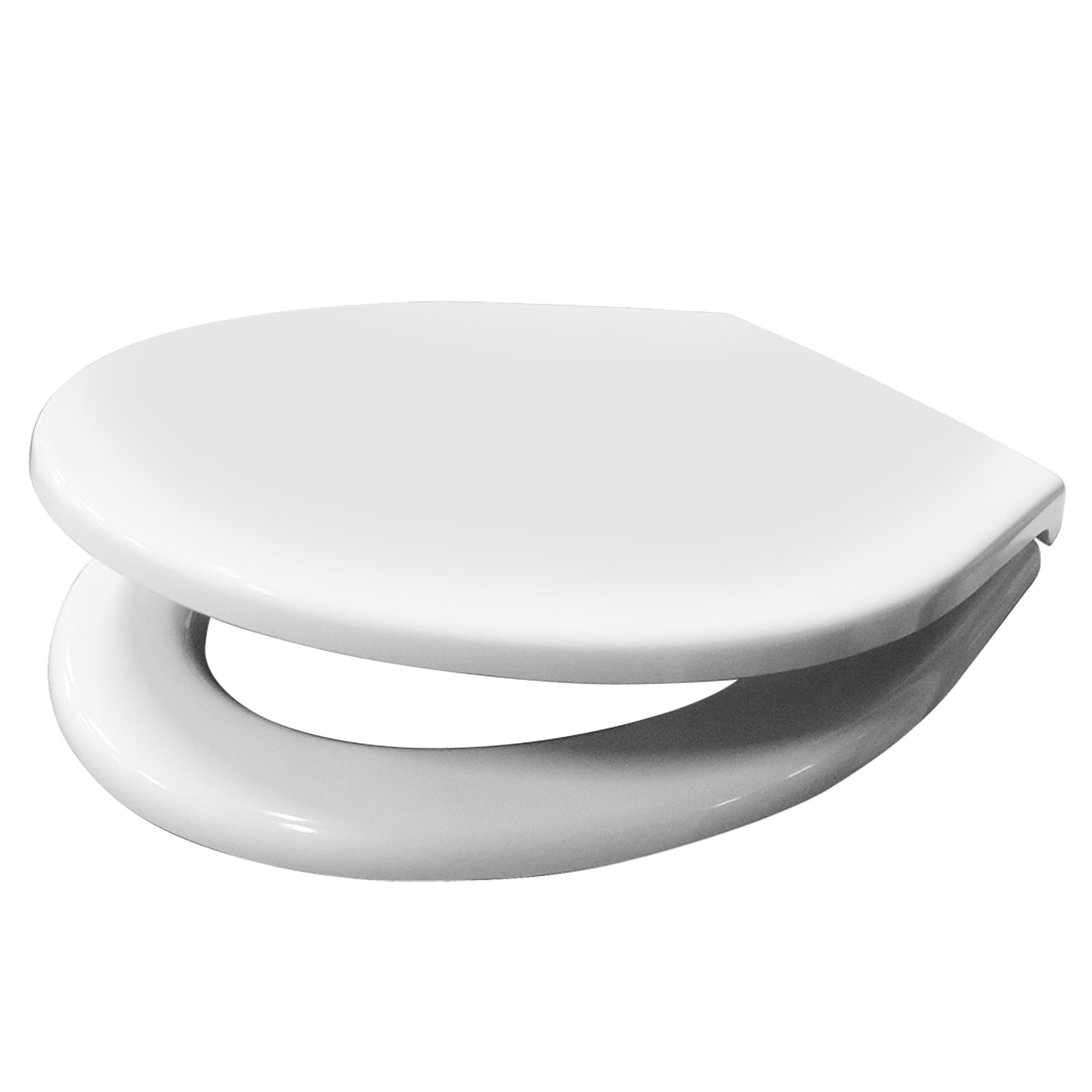 Toilet Zitting Van Marcke Haro Regent Soft Close Duroplast Wit voordeel