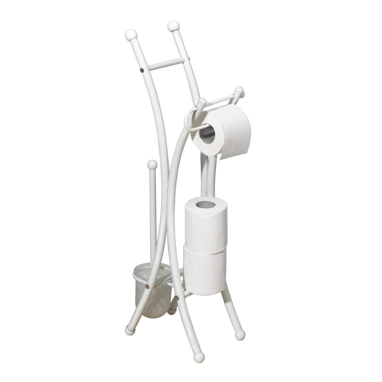 Toiletrolhouder Set Allibert Corfou Wit