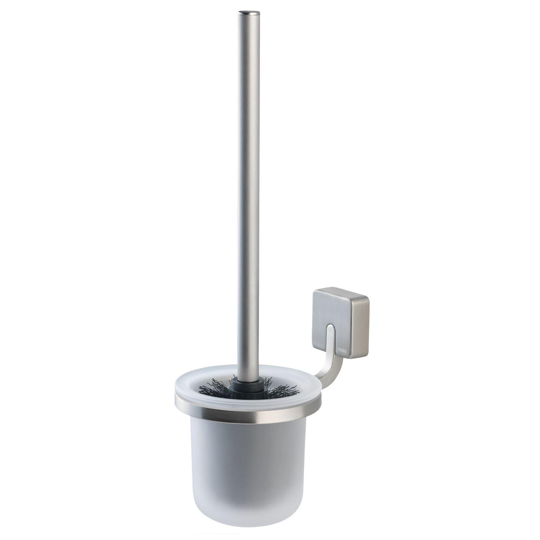 Accessoires 64515 Toiletborstelhouder Tiger Impuls Muur Glas/ RVS Geborsteld 38cm