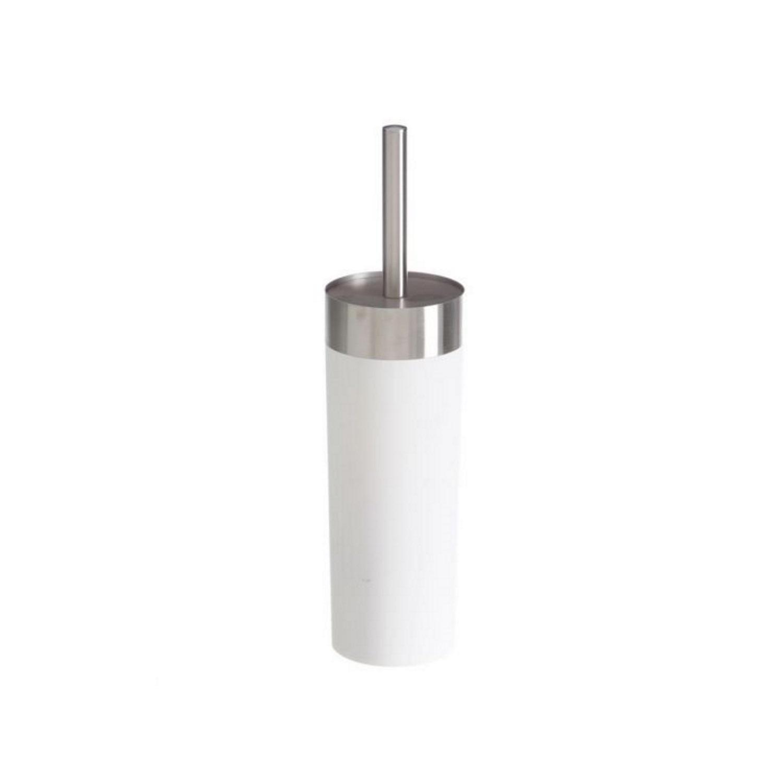 Toiletborstelhouder Vrijstaand Allibert Senso 36,5x8,5 cm Soft Touche Afwerking Mat Wit kopen - Tegel Depot sanitair met korting