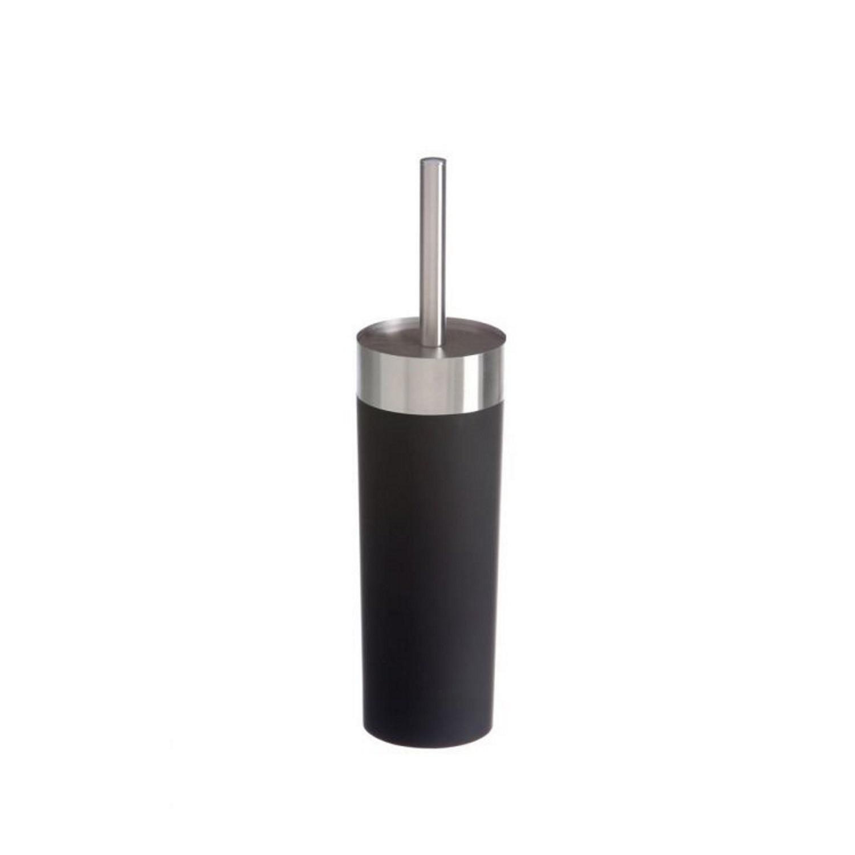 Toiletborstelhouder Vrijstaand Allibert Senso 36,5x8,5 cm Soft Touche Afwerking Mat Zwart