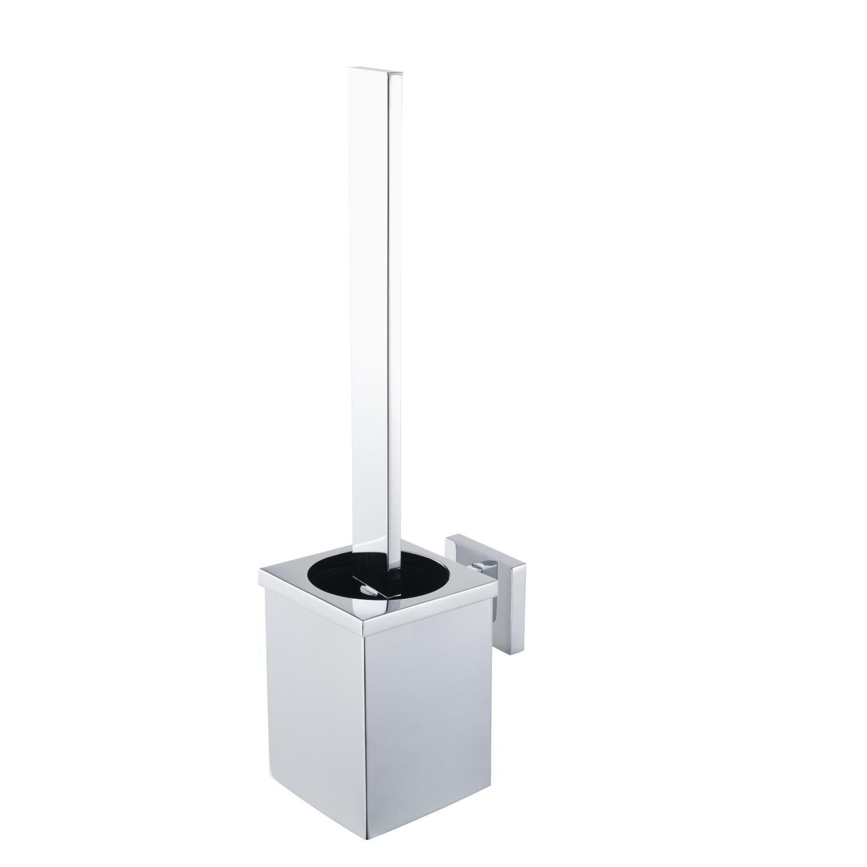 Toiletborstelset Haceka Aqualux PRO5000 Chroom voordeel