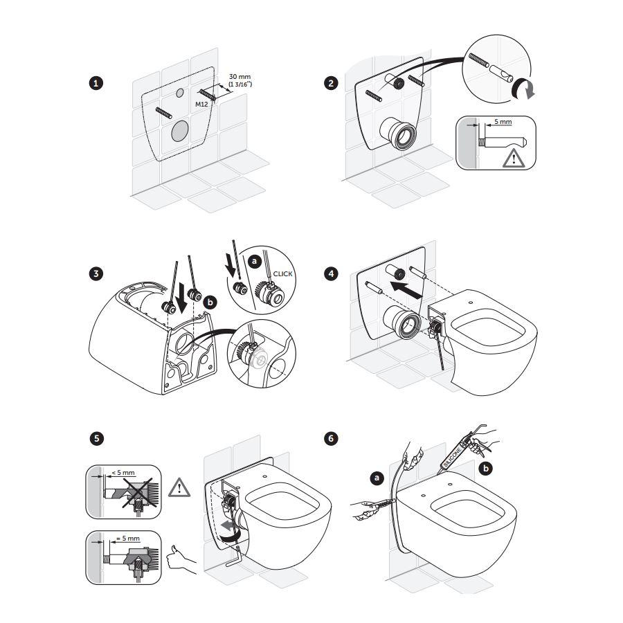 Montage Wc Pot.Ideal Standard Connect Wandcloset Aquablade Met Softclose Zitting Wit Op Op