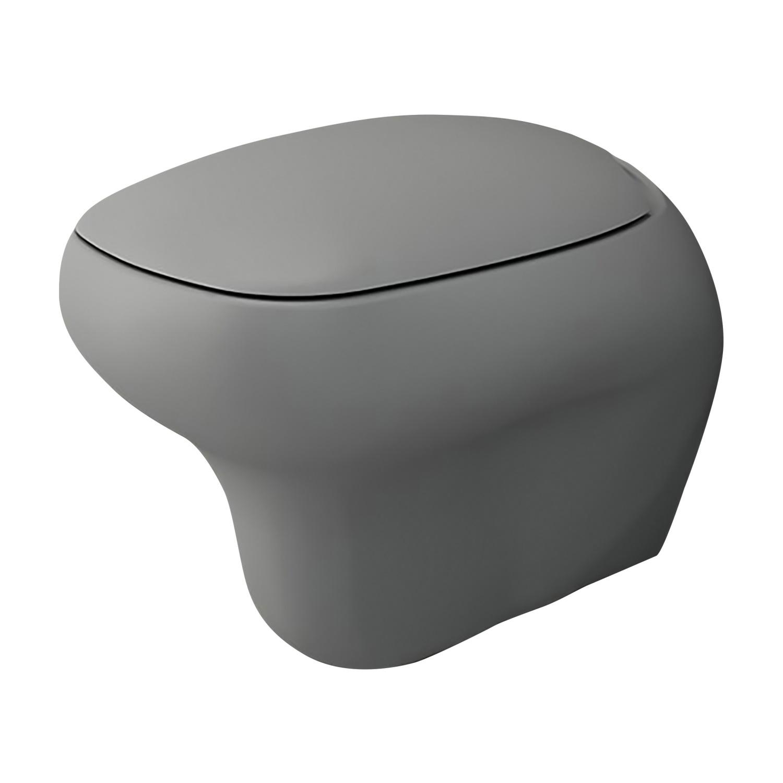 Productafbeelding van Toiletpot Creavit Bocchi Fenice Mat Grijs (Excl Zitting)