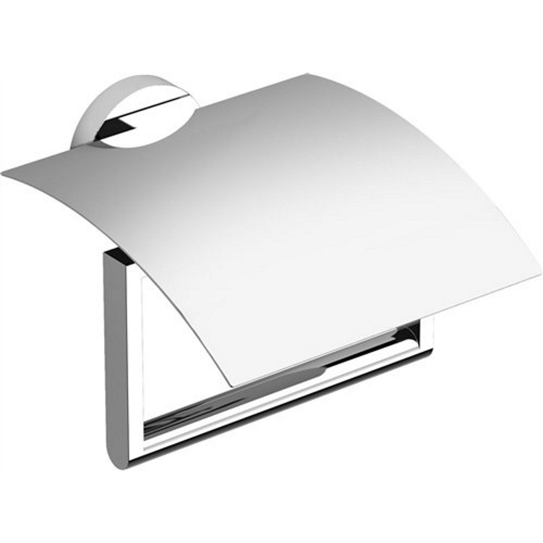 Accessoires 69258 Toiletrolhouder Clou Flat Met Klep Chroom
