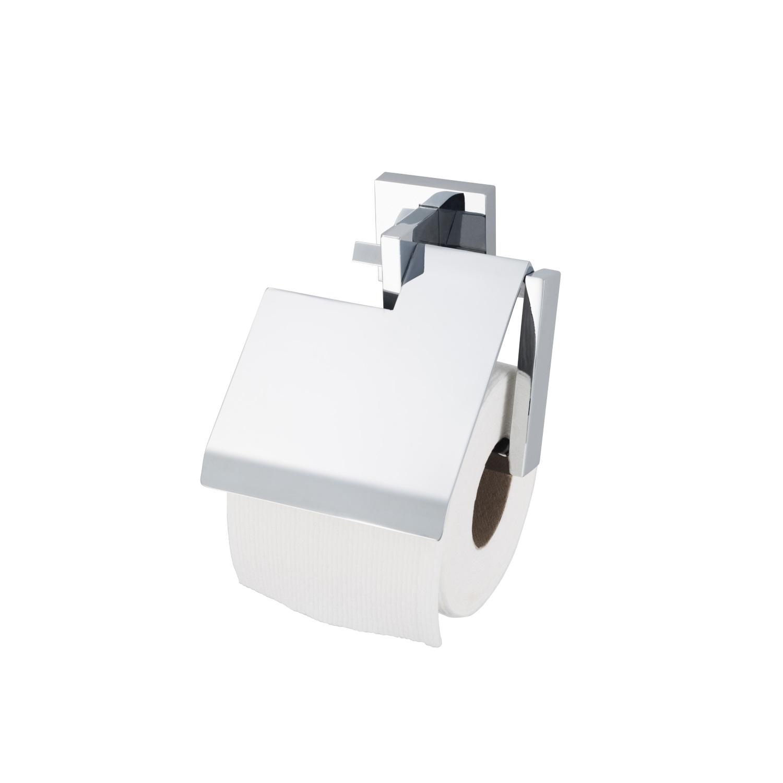 Toiletrolhouder Haceka Aqualux PRO5000 met Klep Chroom voordeel