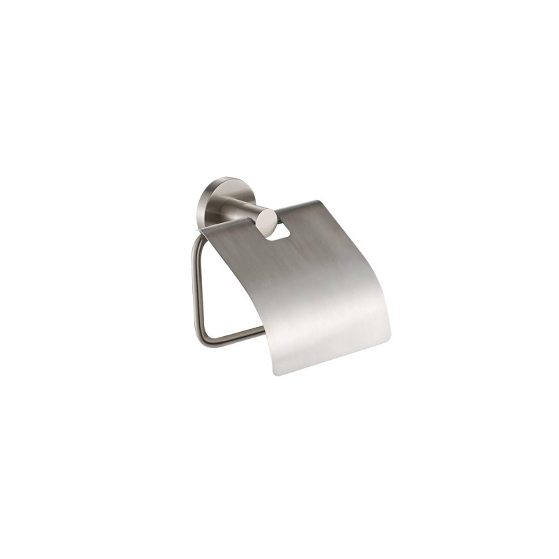 Toiletrolhouder Plieger Vigo met Klep RVS brushed voordeel