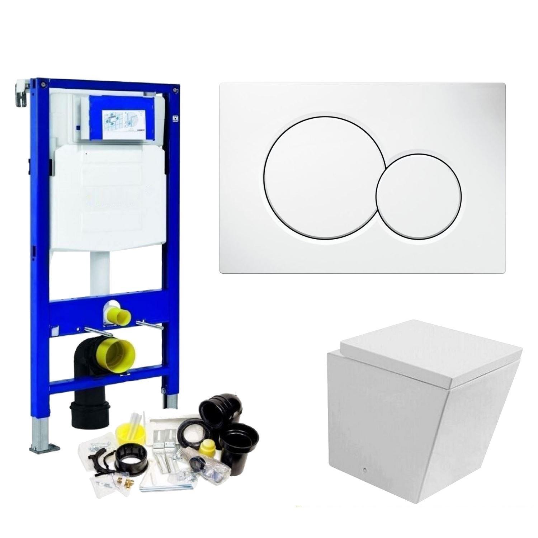 Geberit UP320 Toiletset set26 Best Design Schnell met Sigma drukplaat Toilet Toiletset