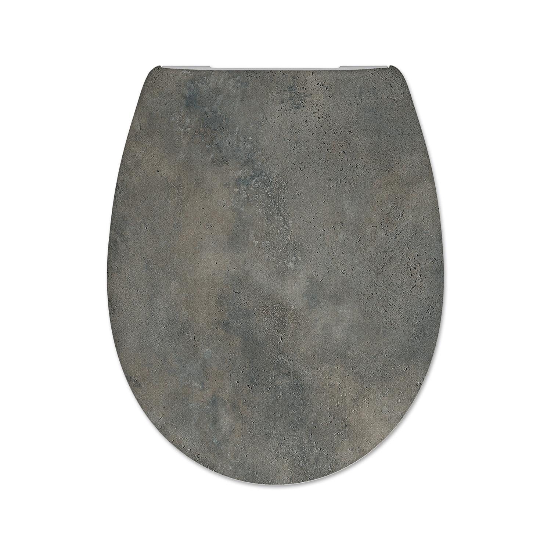 Productafbeelding van Cedo Pinara toiletzitting 44cm donkergrijs