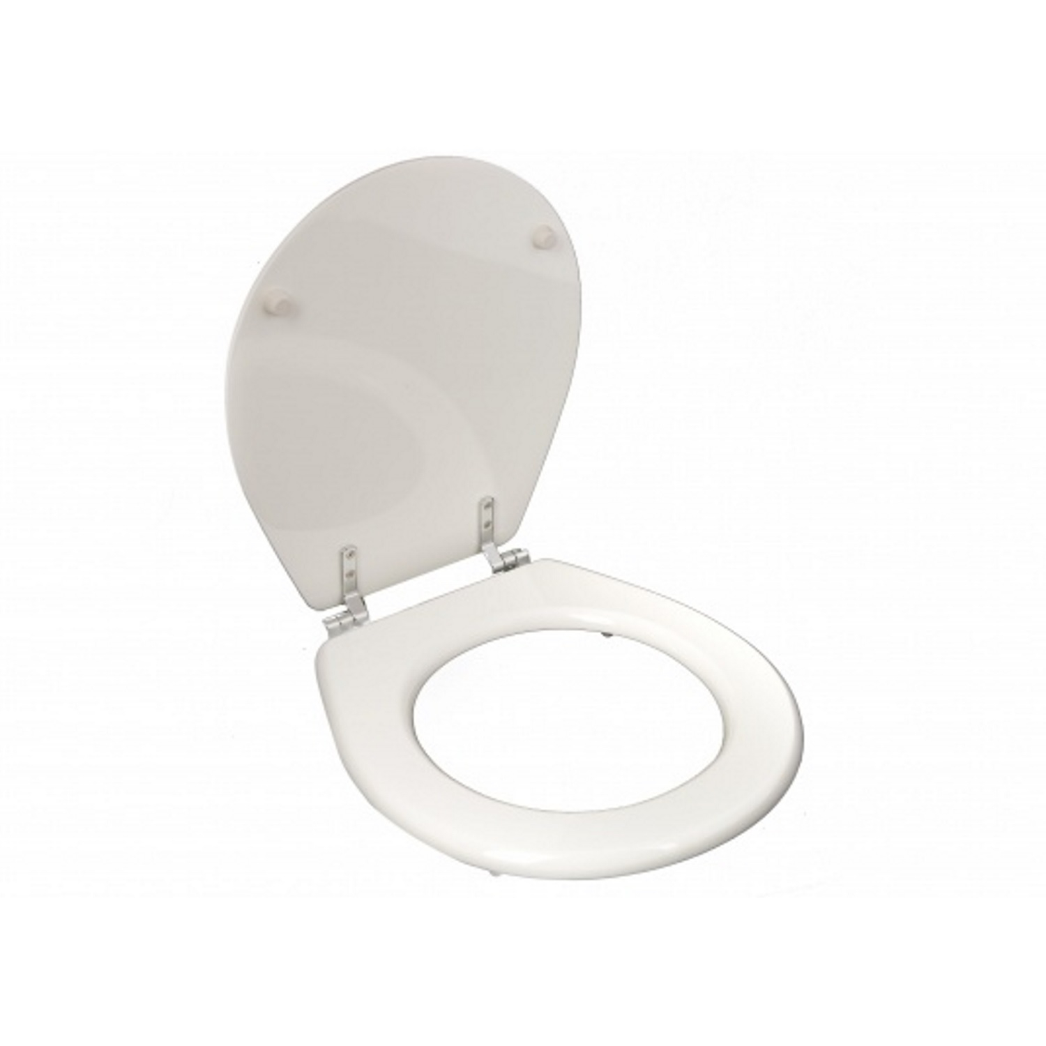 Toiletzitting Tiger Mini Softclose Hout Wit Toilet Softclose toiletbril