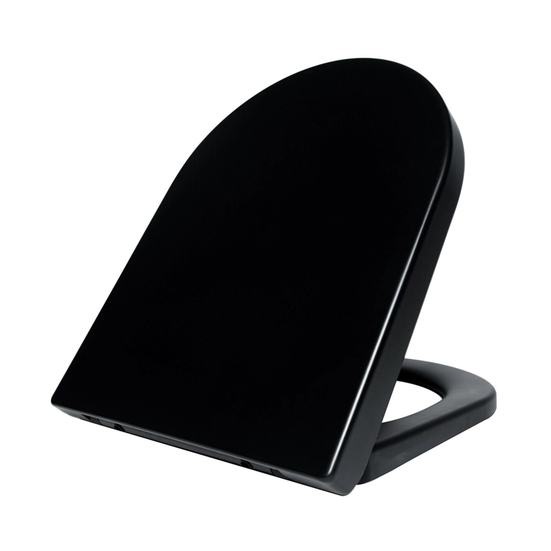 Productafbeelding van Toiletbril Vesta Softclose en Quickrelease Duroplast Mat Zwart